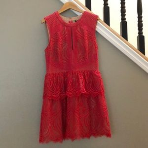 Red BCBG Cocktail Dress